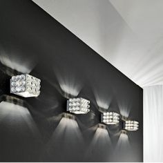 Jewels on the wall.  Masiero Cubix from the Veneto region of Italy.