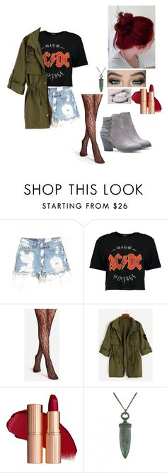 """""""Untitled #566"""" by kyranfisher18 ❤ liked on Polyvore featuring Furst of a Kind, Boohoo and Ornamental Things"""