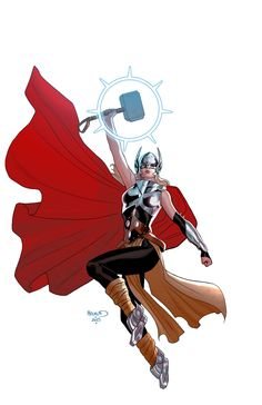Paul RENAUD | I love drawing the new Thor, and I'm lucky to have...