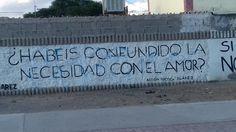 ¿Habéis confundido la necesidad con el amor ? #Acción Poética Ciudad Juárez #accion