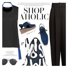 """Shopaholic"" by pokadoll ❤ liked on Polyvore featuring Acne Studios, MM6 Maison Margiela, Givenchy, STELLA McCARTNEY, Bobbi Brown Cosmetics, polyvoreeditorial and polyvoreset"