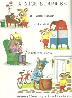 From 'Richard Scarry's Best Story Book Ever,' 1968 :)