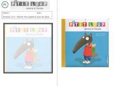 P'tit Loup rentre à l'école - exploitation TPS PS MS GS Petite Section, Google Drive, Ms Gs, Homeschool, Education, Ps, Miniature, Puzzles, Albums