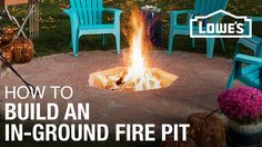 Relaxing by a backyard fire is the perfect way to spend an evening. Here's how to build a classic in-ground fire pit.