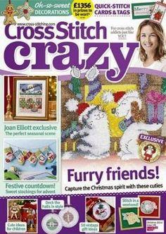 Журналы по вязанию и рукоделию: Cross Stitch Crazy №196 2014