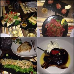 #all #tuna #house #krk #best #place #food #delicius #springrolls #tataki #carpacio #tartar #steak #bruschette #souffle by kikaa123