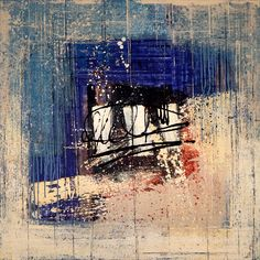 La ultima carta, картина 100х100 см, холст, масло