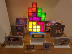 Starting to display my Tetris collection