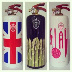 New fire extinguishers fro Safe T in Home & Gift!