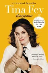 """Bossypants (Enhanced Edition) - by Tina Fey - Before Liz Lemon, before """"Weekend Update,"""" before """"Sarah Palin,"""" Tina Fey was just a young girl with a dream: a recurring stress dream that she was being chased through a local airport by her middle-school gym teacher. She also had a dream that one day she would be a comedian on TV. #Kobo #eBook #20s"""