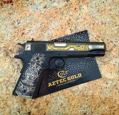 38 Super, Pistols, Hand Guns, Aztec, Hunting Guns, Firearms, Guns