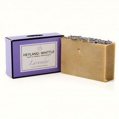 Heyland And Whittle Luxury Lavender Soap £4.78 http://www.incensearomatherapy.co.uk/collections/soap/products/heyland-and-whittle-luxury-lavender-soap