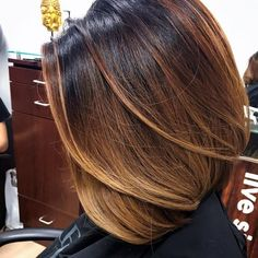 Окрашивание в стиле шатуш на короткие волосы