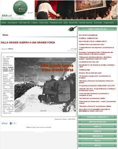 """Associazione Nazionale Alpini. Sito Internet Ufficiale. Redazione L'Alpino. 8 gennaio 2009. """"Dalla Grande Guerra a una Grande Forza"""". Catalogo della Mostra. Recensione del volume."""