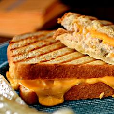 "Tuna Panini Melt I ""A new twist on an old standby."""