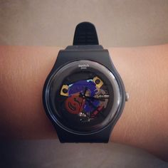 BLACK LACQUERED http://swat.ch/Black_Lacquered #Swatch