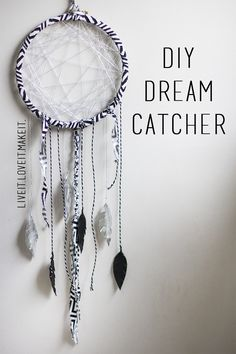 Live it . Love it . Make it.: Makers Month: Make it: Dream Catcher