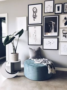 Dreamy Artwork Deco concepts in your residence - Home to Z Home Interior, Home Living Room, Interior Design Living Room, Living Room Decor, Room Wall Decor, Bedroom Decor, Room Inspiration, Interior Inspiration, Scandinavian Living