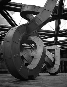 Aotearoa New Zealand Auckland NOBODY HERE BUT US RICHARD DEACON 1991 0711 by itsabitblurry, via Flickr