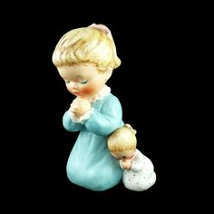 Goebel West Germany Frosted Glass Plate ~ 1978 Little Girl Praying Evening Prayer, Prayers For Children, Frosted Glass, Girl Dolls, Little Girls, Disney Characters, Fictional Characters, Germany, Porcelain