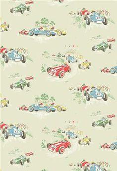 1950s retro atomic wallpaper http://fleamarketchic.files.wordpress.com/2010/05/cath-kidston-vintage-cars-wallpaper.jpg