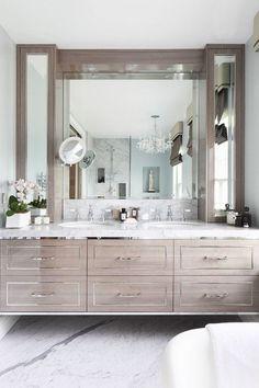 cool 69 Modern Bathroom with Floating Sink Decor