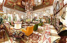Interior Visualization Orientalism