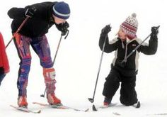 Cross country skiing - includes six metro places that rent kid-sized equipment