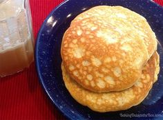 Low carb Pancakes for 1 whip up quickly in the blender and taste fantastic. A whole batch is about 3 carbs. Definitely a favorite low carb comfort food.