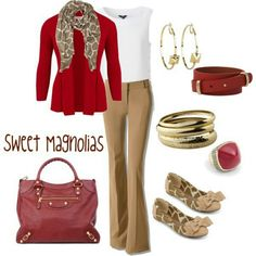 Business casual- NOW the PANTS work with this ensemble...LOVE the outfit!