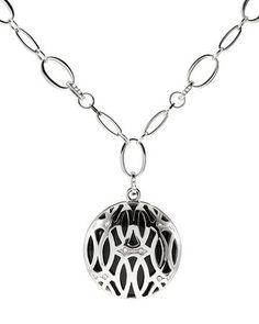 White House | Black Market Ellipses Reversible Long Pendant Necklace #whbm