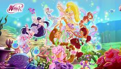 Winx Club.   I know I am a little old for this. But for some reason I like it. It reminds me of my childhood.