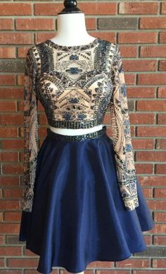 Prom Dresses,Evening Dress,2 Piece Homecoming Dress,Short Homecoming Dresses,Homecoming