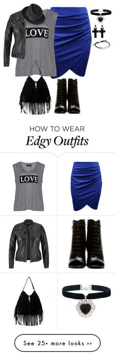 """""""plus size fall edgy chic"""" by kristie-payne on Polyvore featuring Carmakoma, Yves Saint Laurent, maurices, Tarina Tarantino, Dunn and Monica Vinader"""
