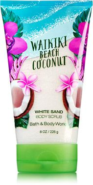 Waikiki Beach Coconut White Sand Body Scrub - Signature Collection - Bath & Body Works