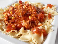 Retete rapide | CAIETUL CU RETETE Macaroni And Cheese, Chili, Soup, Ethnic Recipes, Pizza, Blog, Salads, Chili Powder, Chilis