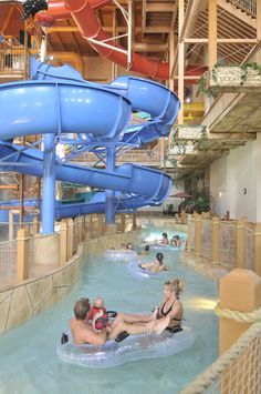 Chula Vista Resort and Waterpark...lovin' the lazy river!