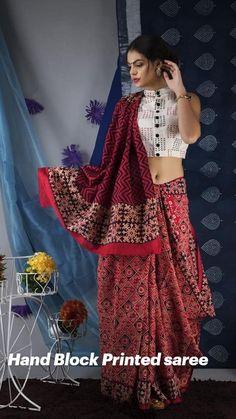 Girls Party Wear, Block Print Saree, Yellow Saree, Traditional Sarees, Cotton Saree, Silk Sarees, Party Wear Sarees, Printed Sarees, Elegant Woman