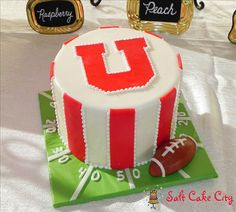 Salt Cake City University of Utah Utes Groom's Cake                                                                                                                                                                                 More