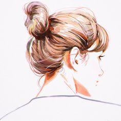 Hair Bun Art
