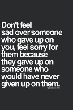 and thats what it was, they gave up, miss understood, years of friendship gone in an instant with no explanation.