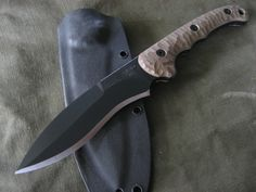Miller Bros. Blades (MBB) Custom Fighting Style Recurve Dagger. Custom Handmade Swords, Knives & Tomahawks/Axes http://www.millerbrosblades.com/