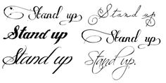 tattoo fonts for girls - Google Search