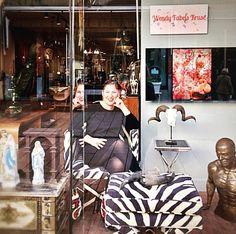 @hartware_by_geesje  New window.. #art #manipulatedphotography #wendyfabelskruse #fairytail on #alluminium #gallery #hartwarebygeesje #haverstraatpassage #enschede