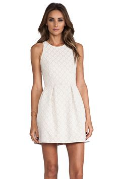 Motel Lace Girlie Dress in Nude from REVOLVEclothing