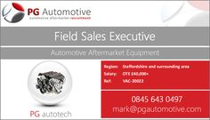 Start 2017 with a bang and apply for this fantastic new Field Sales position which we are proud to represent on behalf of a highly prestigious British company, with the market leading product in their field http://www.pgautomotive.com/job-vacancy-20022-field-sales-executive/ #job #pgautomotive #staffordshire