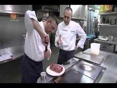 Michel Jnr   Alain Roux   Beef en Croute with Sauce Bearnaise - YouTube
