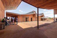 Kéré Architecture · Burkina Institute of Technology · Divisare Kengo Kuma, Barack Obama, Francis Kere, Thermal Mass, Rise Art, Landscaping Work, Construction Process, Walk In The Woods, Architect Design