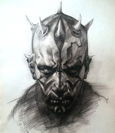 Star Wars - Darth Maul by Elia Bonetti * - Art Vault Well done. I like this one.