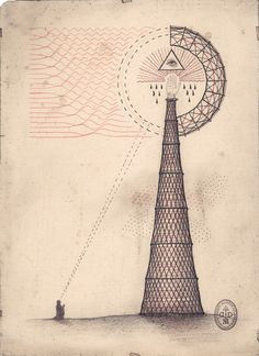 Harmonic Tower. How we unconsciously worship cell towers.